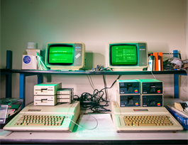 Ordinateurs Macintosh illustrant le guide Budget participatif