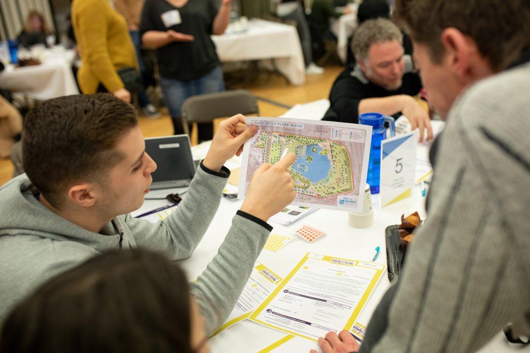 La participation des jeunes au budget participatif du Val de Marne